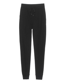 T BY ALEXANDER WANG Soft French Terry Long Black