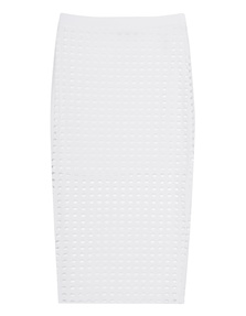 T BY ALEXANDER WANG Hole Stretch Pencil White