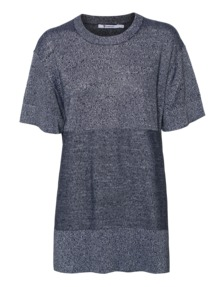 T BY ALEXANDER WANG Knit Contrast Grey