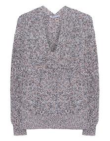 T BY ALEXANDER WANG V-Neck Multi Knit
