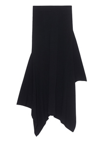 T BY ALEXANDER WANG Asym Rib Gonna Black