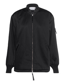 T BY ALEXANDER WANG Bomber Glossy Black