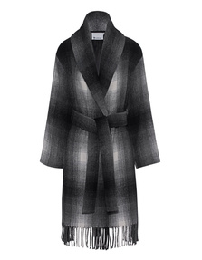 T BY ALEXANDER WANG Shawl Collared Wool Coat