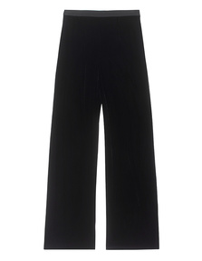 T BY ALEXANDER WANG Pants Velvet Black