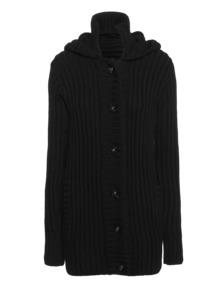 SLY 010 Slim Rib Button Black