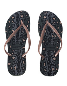 HAVAIANAS Slim Animals Green Olive