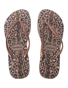 HAVAIANAS Slim Animals Rose Gold