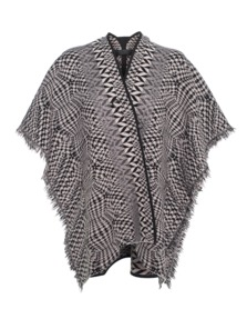 D.EXTERIOR Pattern Poncho