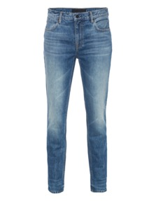 ALEXANDER WANG 002 Relaxed Straight Blue