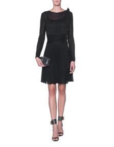 ANTONINO VALENTI Griselda Skater Dress Black