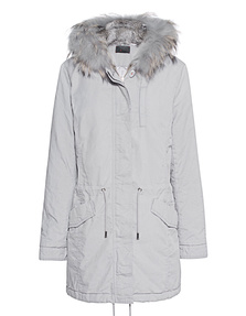 IQ BERLIN Basic Fur Light Grey