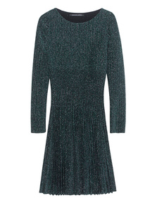 ANTONINO VALENTI Starlight Skater Dress Ceder Green