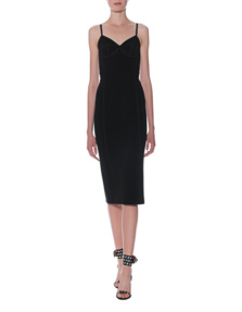 T BY ALEXANDER WANG Fitted Cocoon Black