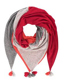 ALBEROTANZA Pompoms Red-Grey
