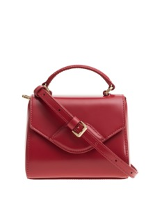 LULU GUINNESS Mini Izzy Polished Red
