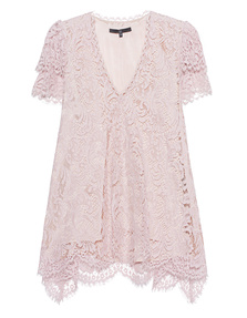 SLY 010 Lace Top Rose