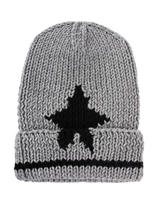 LALA BERLIN Cap Star Grey Melange
