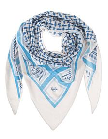 LALA BERLIN Triangle Trinity Cashmere Blue