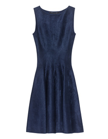 ANTONINO VALENTI Adelaide Skater Dress Blue