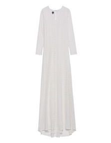 GLAW Lace Maxi Off White