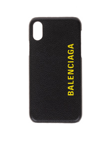 BALENCIAGA iPhone X Black