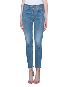 RE/DONE High Rise Ankle Crop Med Vain
