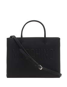 MOSCHINO Embossed Clean Black