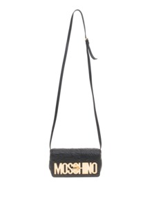 MOSCHINO Logo Embroidery Black