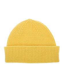 LE BONNET Beanie Unisex Yellow
