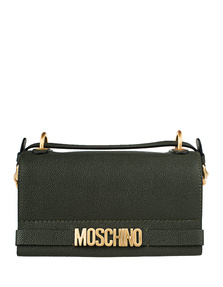 MOSCHINO Small Leather Dark Green