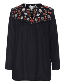 byDanie Embroidery Coin Black