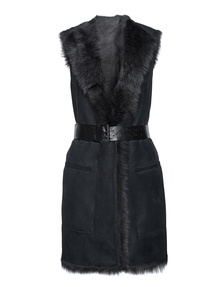 SLY 010 Shearling Long Anthra