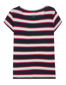 JUVIA Multi Stripe Red Navy