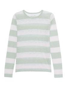 JUVIA Long Stripes Green