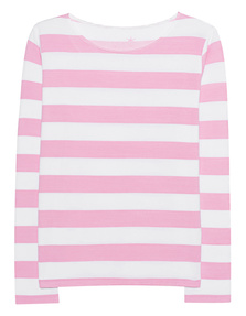 JUVIA Stripe Sweater Candy