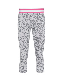 JUVIA Active Leo Print Grey