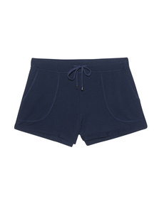 JUVIA Fleece Shorts Deep Blu