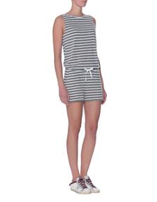 JUVIA Jersey Stripe Jump Grey