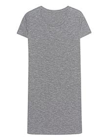 JUVIA Mouliné Dress Graphit