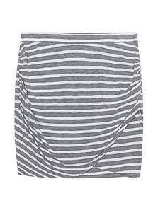 JUVIA Jersey Stripe Grey White