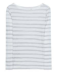 JUVIA Basic Stripes White Grey
