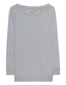 JUVIA Basic Oversize Grey Melange