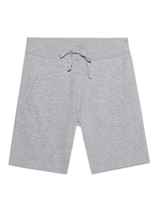 JUVIA Shorts Long Grey Melange