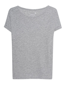 JUVIA Crew Neck Boxy Grey