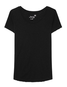 JUVIA Rolled Up Hem Black