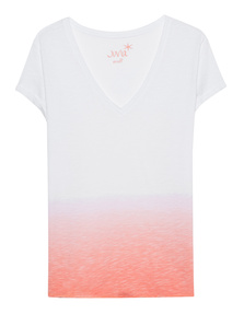 JUVIA Color Gradient Tee Apricot
