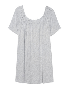 JUVIA Off Shoulder Basic Grey