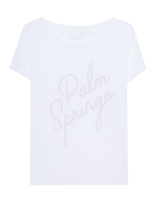 JUVIA Boxy Palm Springs White