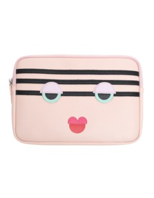 IPHORIA Power Purse Stripy Face