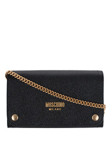 MOSCHINO Classic Gold Chain Black